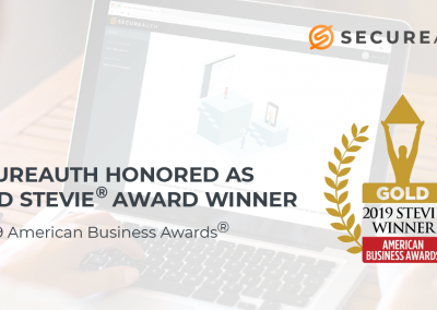 SecureAuth Honored as Gold Stevie Award Winner in 2019 American Business Awards